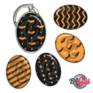badge image cabochon personnalisé halloween motif