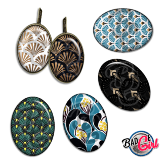 badge image digitale numerique cabochon personnalisé motif motifs pattern wallpaper vintage retro tapisserie art déco deco decoratif mucha