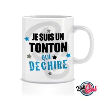 badge image cabochon personnalisé mug à imprimer tonton qui déchire