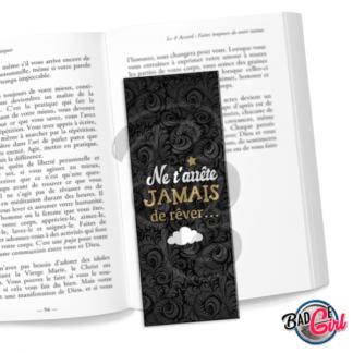 marque page parque-page image digitale numérique imprimer livre lecture citation spiritualité rêve