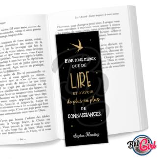 marque page parque-page image digitale numérique imprimer livre lecture citation livre lire lecture victor hugo