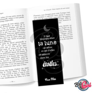 marque page parque-page image digitale numérique imprimer livre lecture citation livre lire lecture oscar wilde