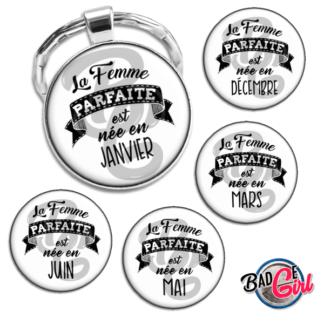 badge image digitale numerique cabochon personnalisé saint valentin homme parfait humour mois naissance