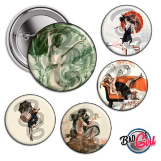 badge image digitale numerique cabochon images pour badge badges pinup pin up femme vie parisienne