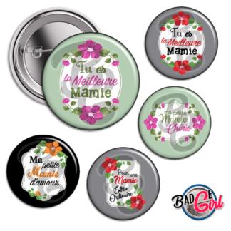 badge image digitale numerique cabochon images pour badge badges mamie je t'aime d'amour meilleire coeur