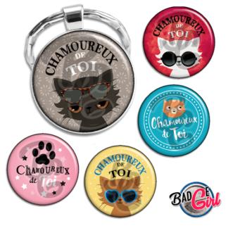 badge image digitale numerique cabochon images pour badge badges amour saint valentin amour chat