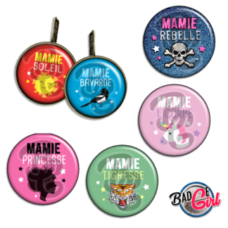 badge image digitale numerique cabochon images pour badge badges mamie bavarde princesse licorne