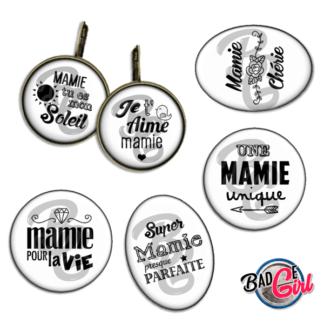 badge image digitale numerique cabochon images pour badge badges mamie parfaite je t'aime unique pour la vie chérie