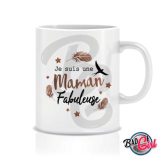 mug mugs tasse image digitale numerique cabochon personnalisé maman fabuleuse hirondelle
