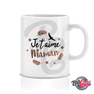 mug mugs tasse image digitale numerique cabochon personnalisé maman je t'aime hirondelle