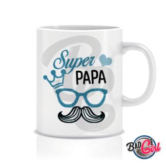 mug mugs tasse image digitale numerique cabochon personnalisé mug tasse papa super