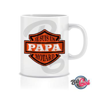 mug mugs tasse image digitale numerique cabochon personnalisé mug tasse papa moto motard