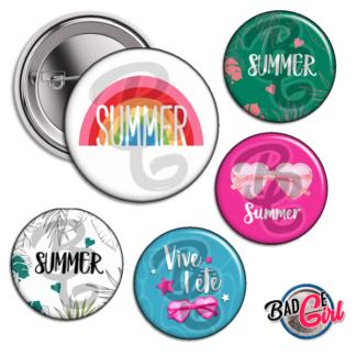 image badge bijou été summer
