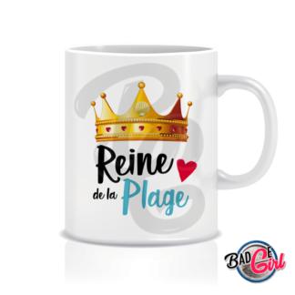 image badge bijou mug mugs pinup pin up vintage plage reine été plage